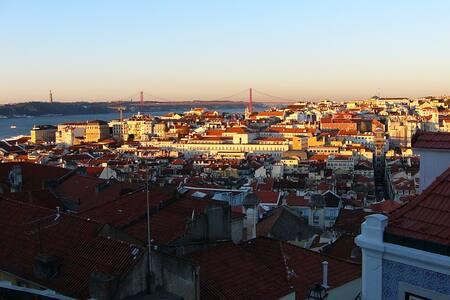 Appartement Lisbonne - Vue extraordinaire