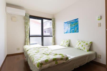 10minutes in Okinawa Raikamu car/Cheap rooms - Okinawa-shi - 公寓