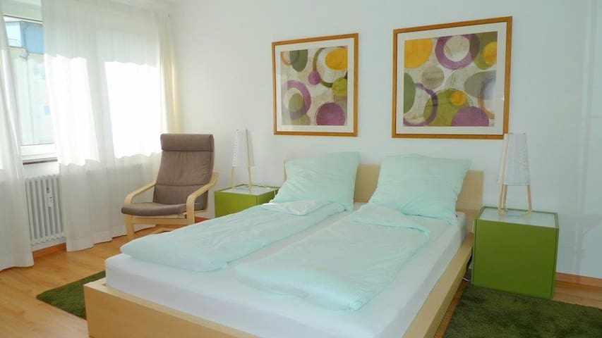 Sonnig und ruhig nahe Uni ! ;-) - Estugarda - Apartamento