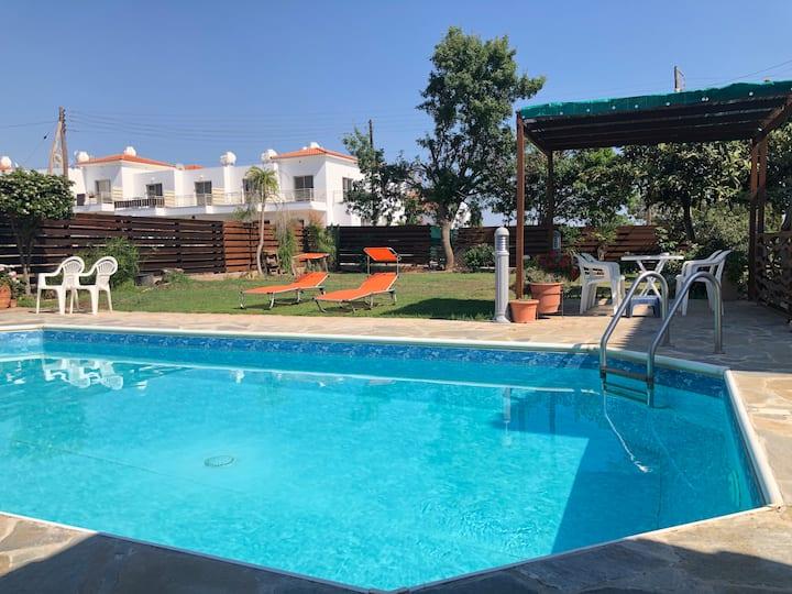 Kissonerga private pool new build Dream House