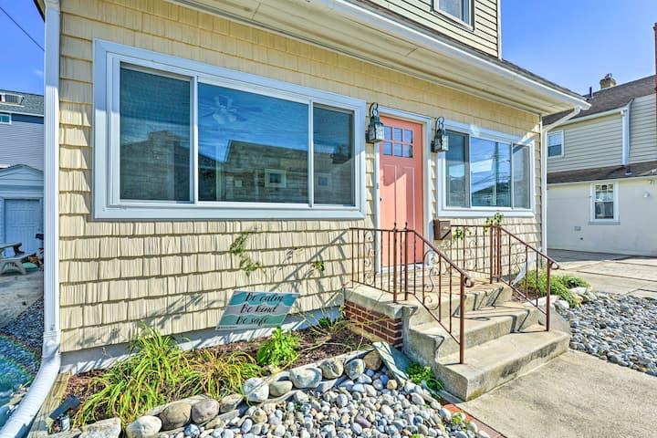 NEW! Ventnor City Shore House: Walk to Beach & Bay
