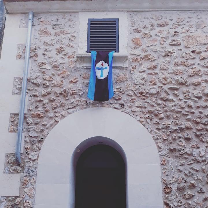 Casa típica mallorquina a la zona nord de Mallorca