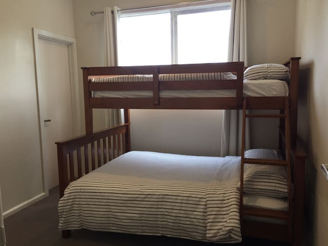 Bedroom 2 - Tri-Bunk Bed with ensuite