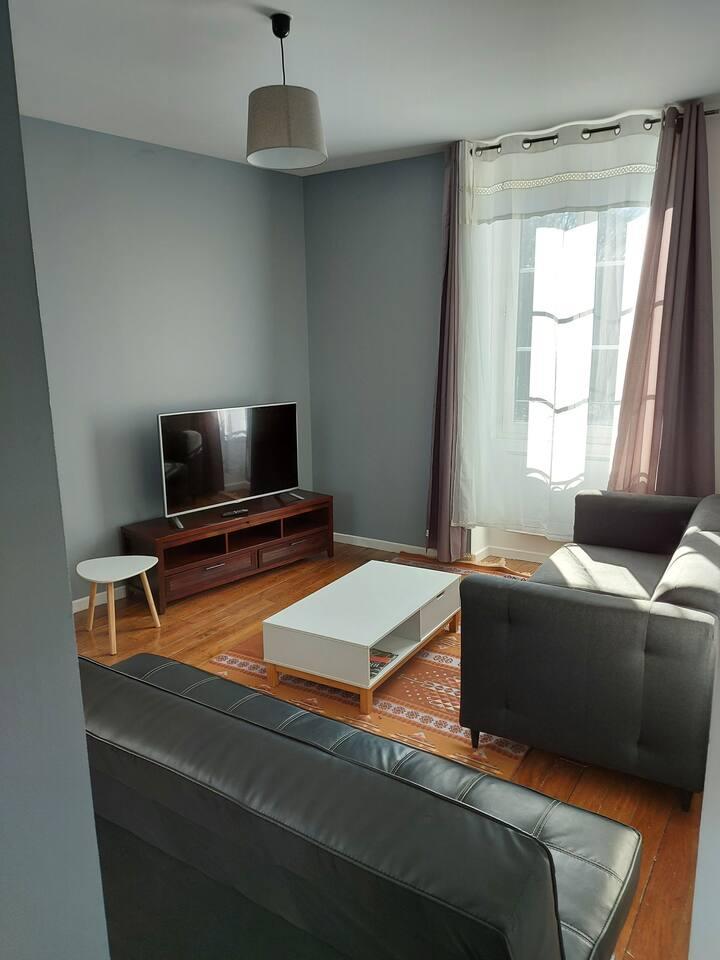 Appartement équipé  parfaitement proche d'Orléans
