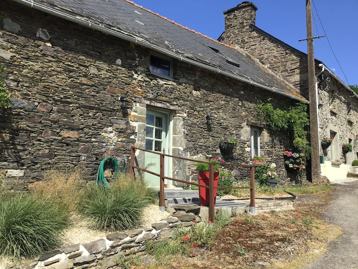 Les Ecuries is a modern renovated barn
