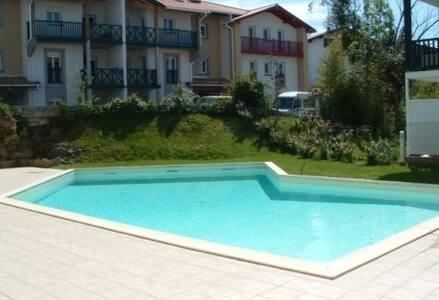 T2 avec piscine, terrasse, internet - Hendaye