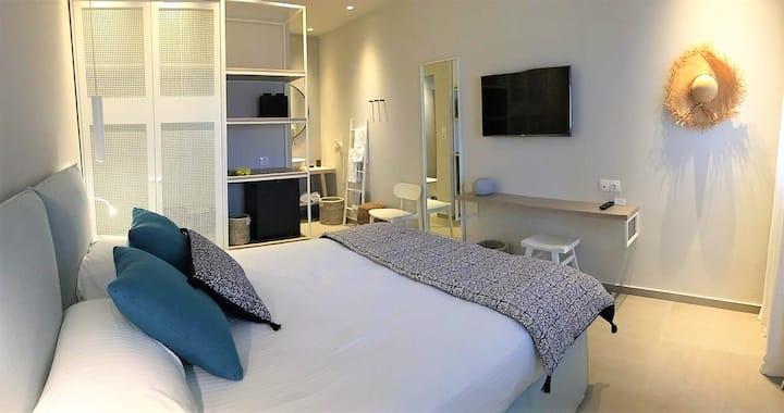 Double room garden view - Vigla Hotel - Amorgos