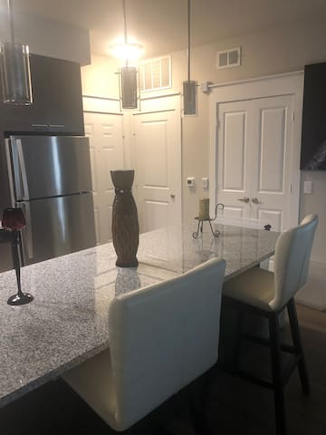 Brand New gated apt with Private bedroom/bathroom