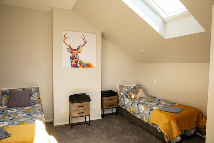 Two Single beds - Located in a separate bedroom