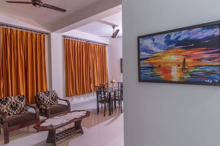 Tusti Homestay - Two bedroom bungalow with kitchen - Guwahati