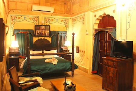 Bairisal Mahal in Royal Family's House! - Jaisalmer