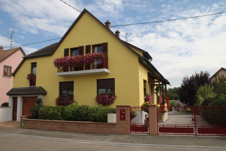 Super Gîte  3* 2/4p. prox Colmar - Oberhergheim - Lägenhet
