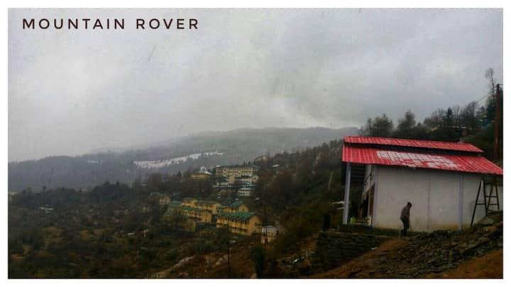 Room with Nanda devi peak view