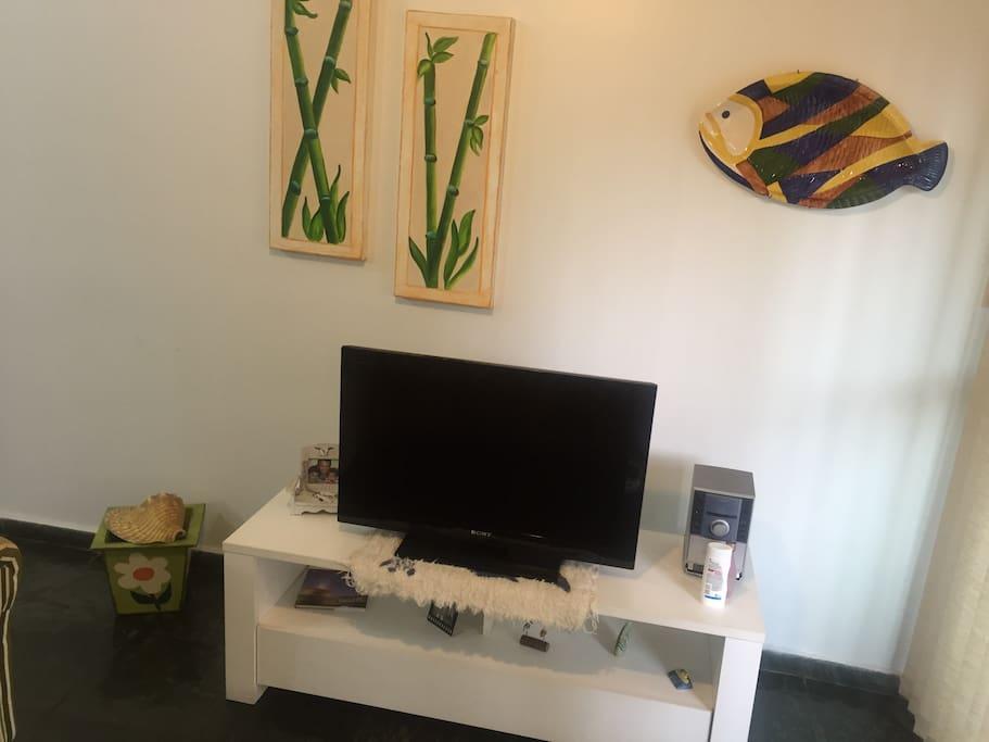 Sala de estar com TV!