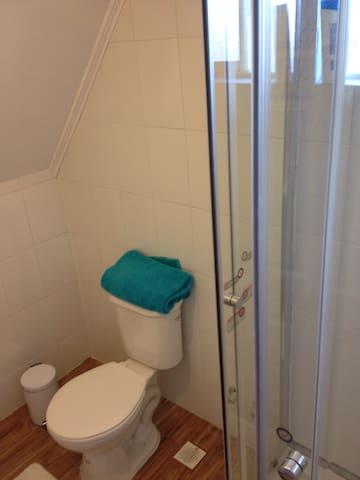 Baño del segundo piso, incluye ducha