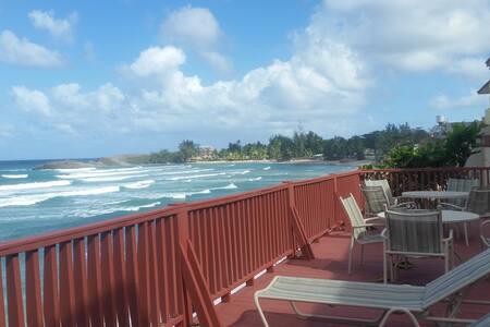 Jobos Beach Ocean-Front Apartments 4B - Isabela - Apartamento