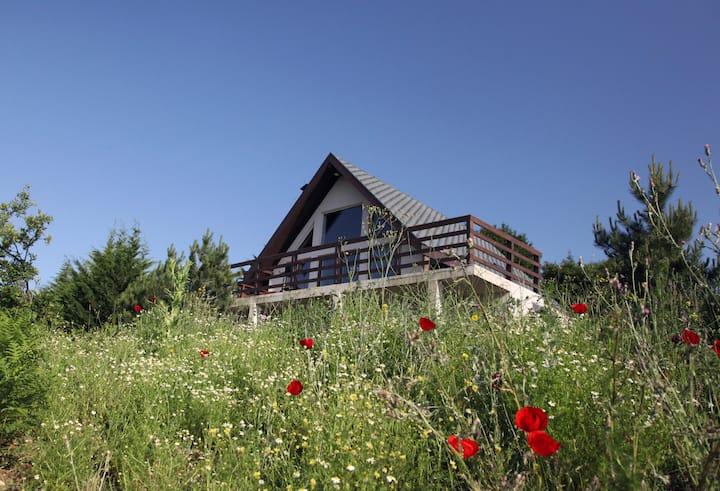 Köroğlu Dağları Manzaralı, Şömineli Dağ Evi #1