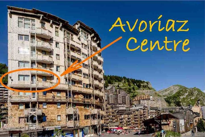 Self-catering apt, Avoriaz centre, family-frienfly