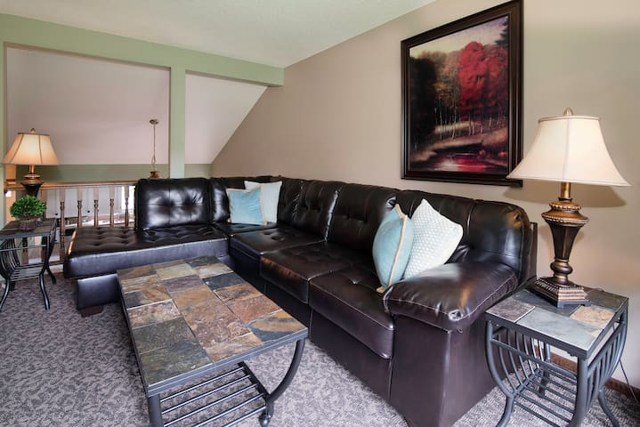 Family room to relax in