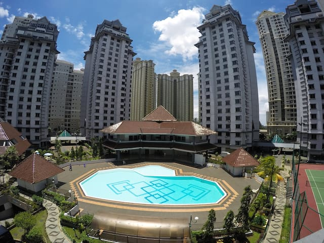 3BR Apt located in Central Jakarta, Kemayoran - Kemayoran - Apartment