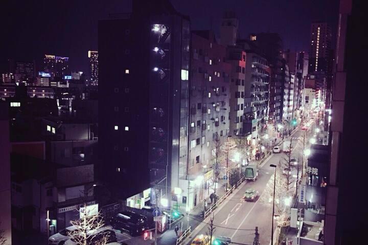 新宿駅から5分‼︎English OK! WIFI完備、夜景素敵! - 新宿区 - Apartment