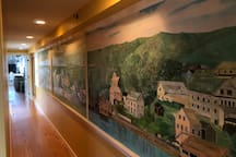 25 foot mural of Rocky Neck