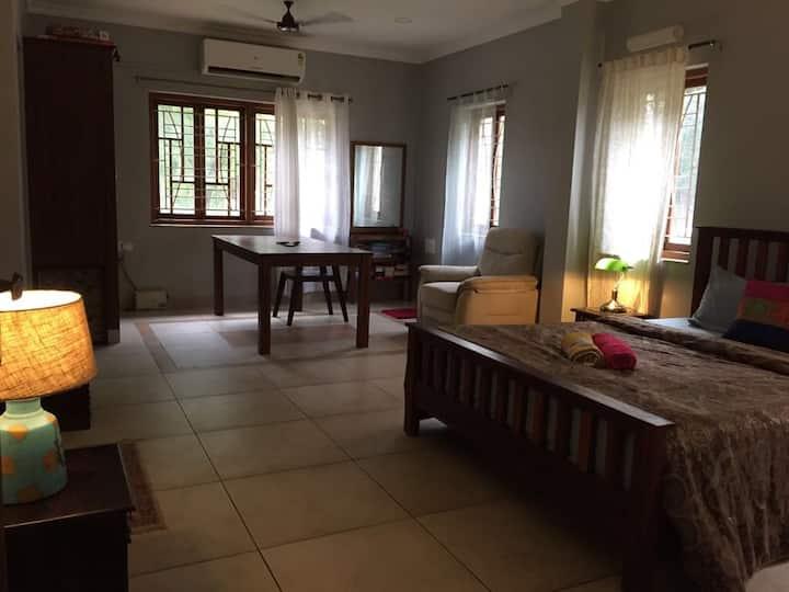 Harrys place 105 Riverside Villa Moira North Goa