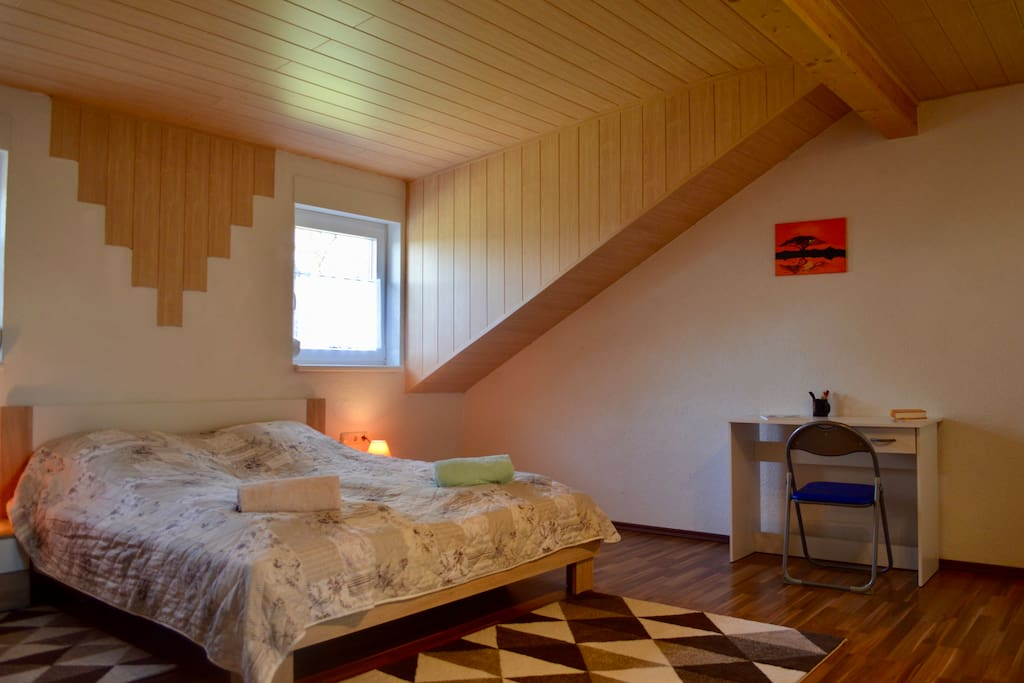 Master Bedroom with desk etc.