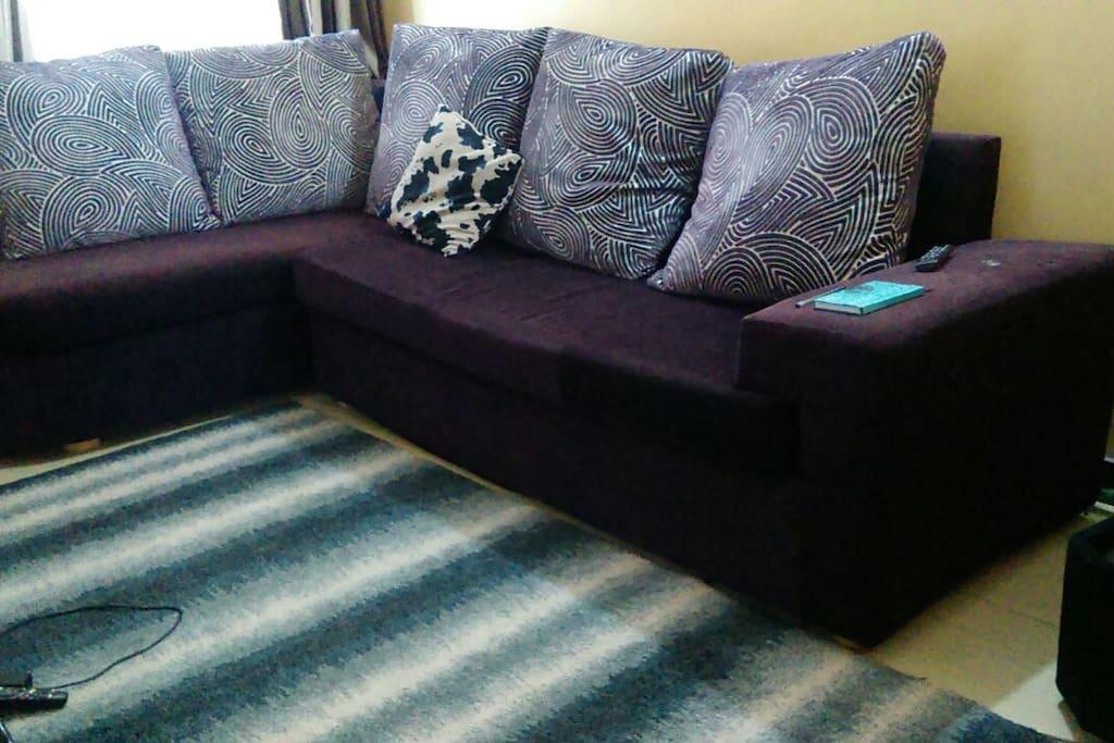 Comfy Sofas With A Cosy Belgium Carpet