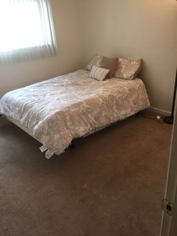 It is two bedroom apartment very clean And quite