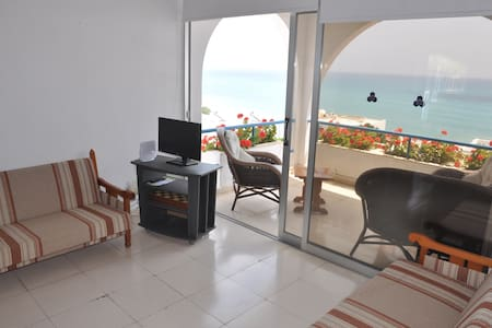 Sea view one bedroom Pissouri beach apartment