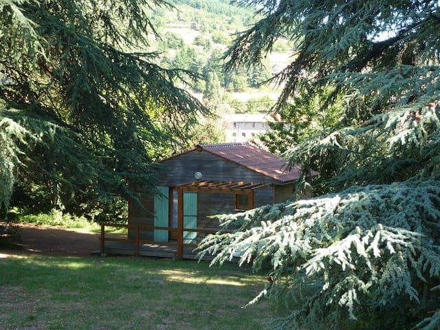 Chalet Nature dans le parc du Pilat - Saint-Julien-Molin-Molette - Dağ Evi