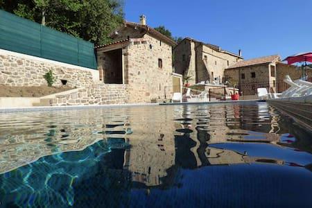 Logement neuf deux chambres dans bastide restaurée - Faugères - Altro