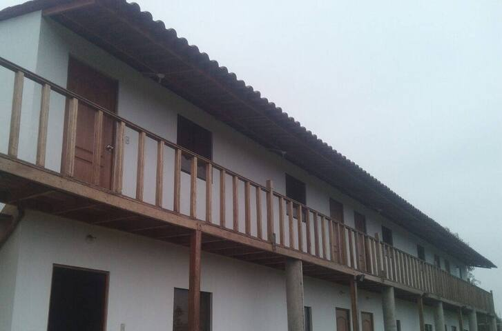 Casa de campo en Mala a 7km del Boulevar de Asia - PE - Hotel ekologiczny