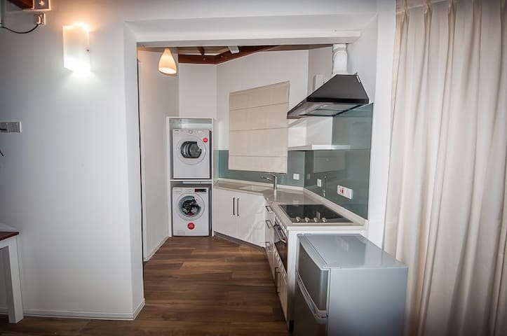 Pantry, wash/dryer area