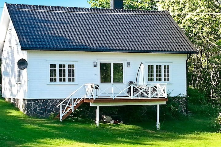 4 star holiday home in høvåg