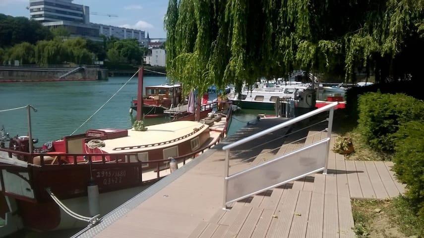 BEAU BATEAU LOGEMENT AVEC VUE À 10 MN DE PARIS - Joinville-le-Pont - Boot