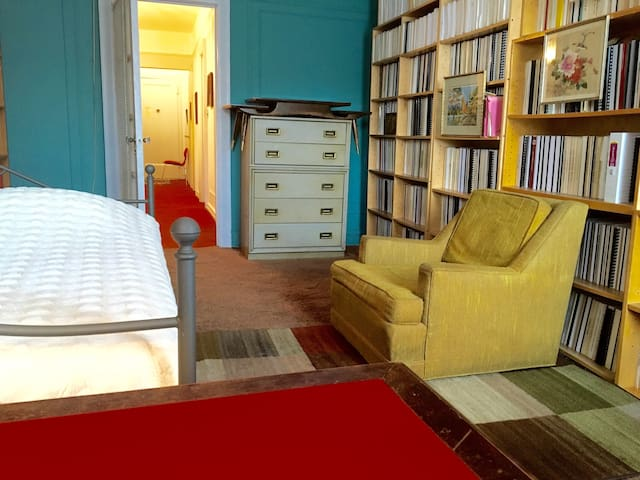 Charming Private Library-Room - New York - Byt