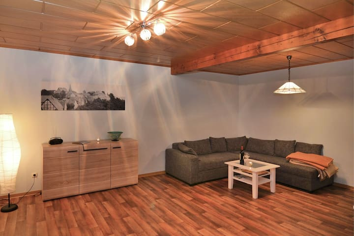 Heritage Apartment in Battenberg with Skiing Near