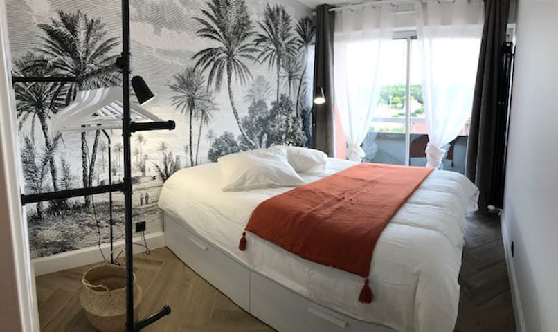Arcamarine 4 beddings, 5 minutes from the beach