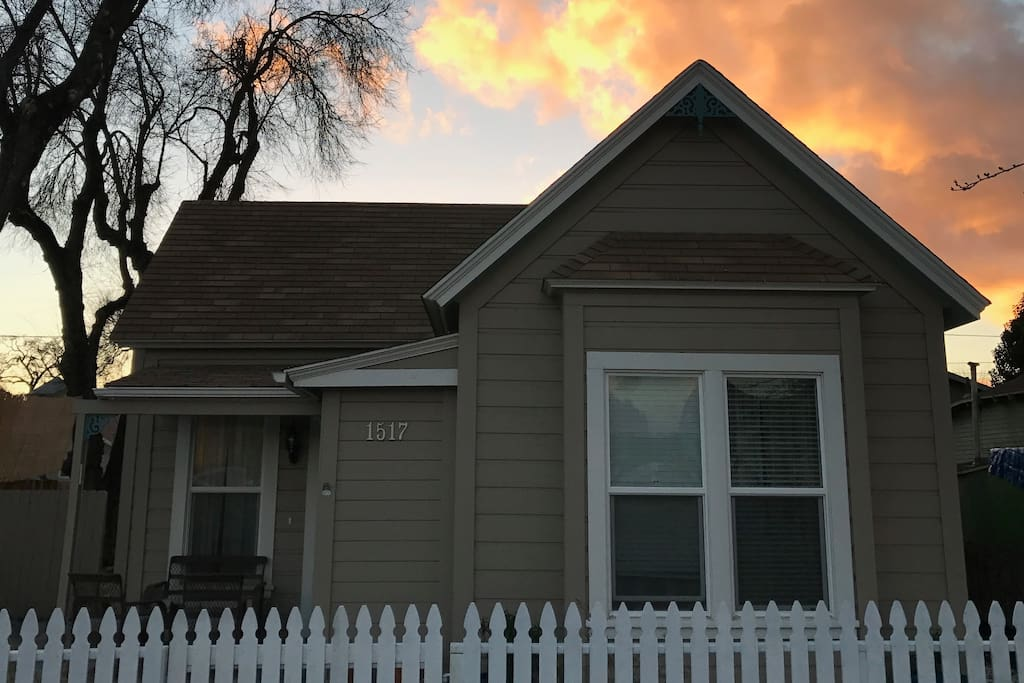 Front of House (Sunset)