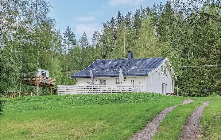 Beautiful home in Aurskog with 3 Bedrooms