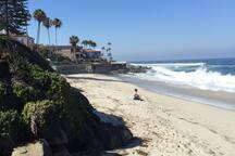 Wind n sea beach less than 10 minute walk