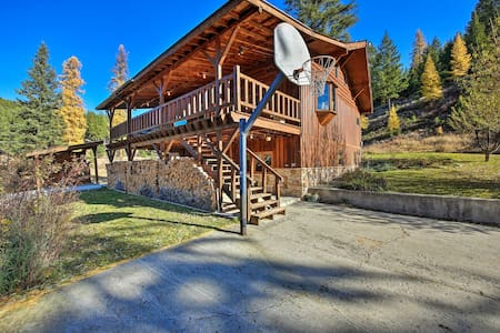 NEW! Kootenai Forest Home: Outdoor Entertainment!