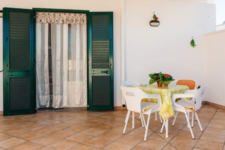 Appartamento a 150m dal mare Leuca