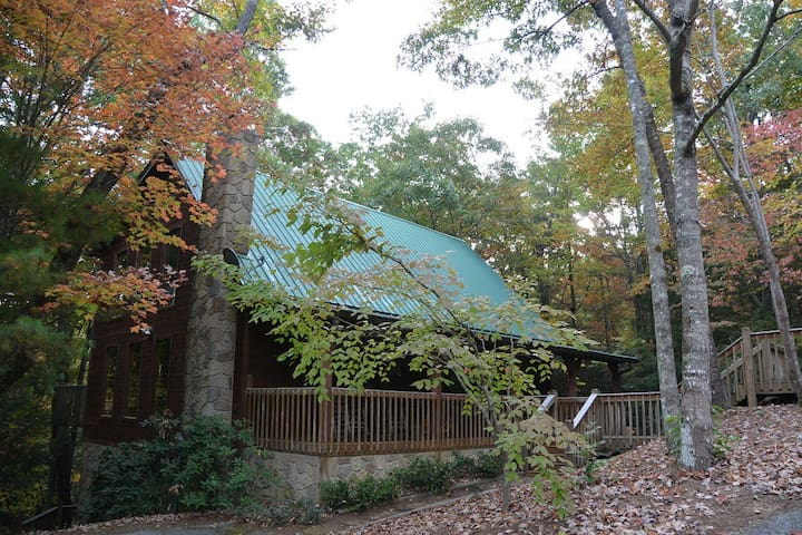 Peaceful cabin near Natl Prk - 2 rooms / 2nd floor - Townsend - Cabana