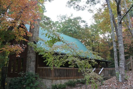 Peaceful cabin near Natl Prk - 2 rooms / 2nd floor - Townsend - Srub