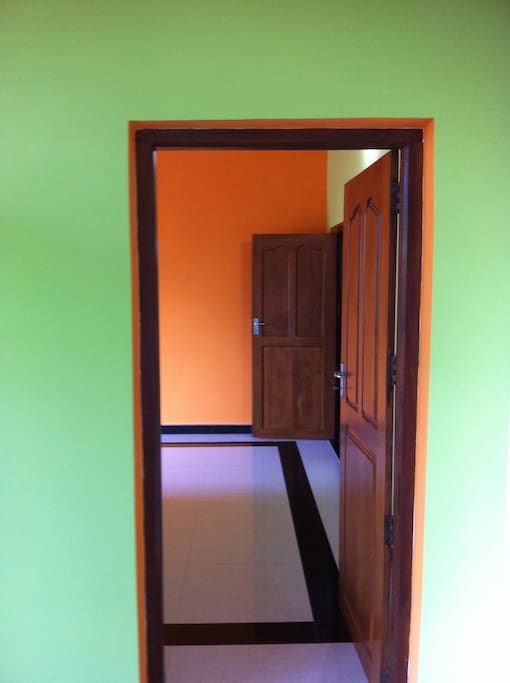Room entrance passage