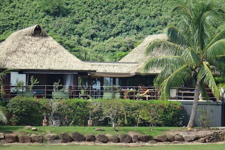 Blue Lagoon Moorea | 2 beds villa Beachfront with jacuzzi. - Moorea