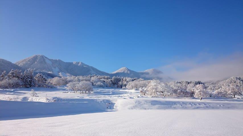 長野県北部の2階建て貸別荘
